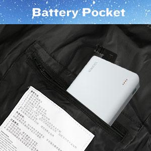 heated jacket withot battery pack