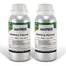 ヘッドランプリムーバー 600ml 2本セット 溶剤
