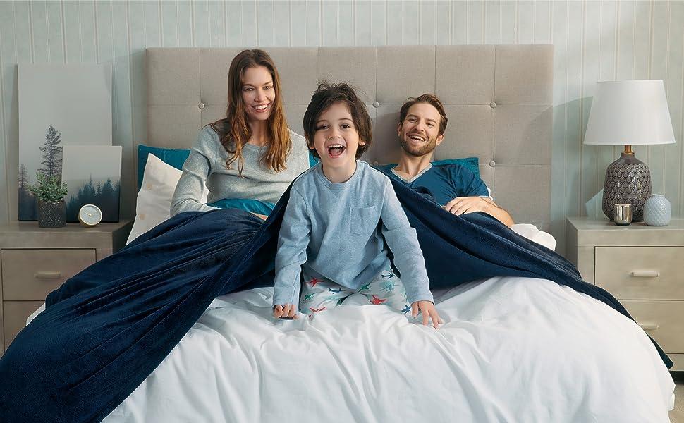 Actual application scenario of the Flannel Fleece Blanket