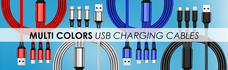 usb cable, charging cable, lightning cable, type c usb cables