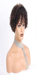 kinky curly wig