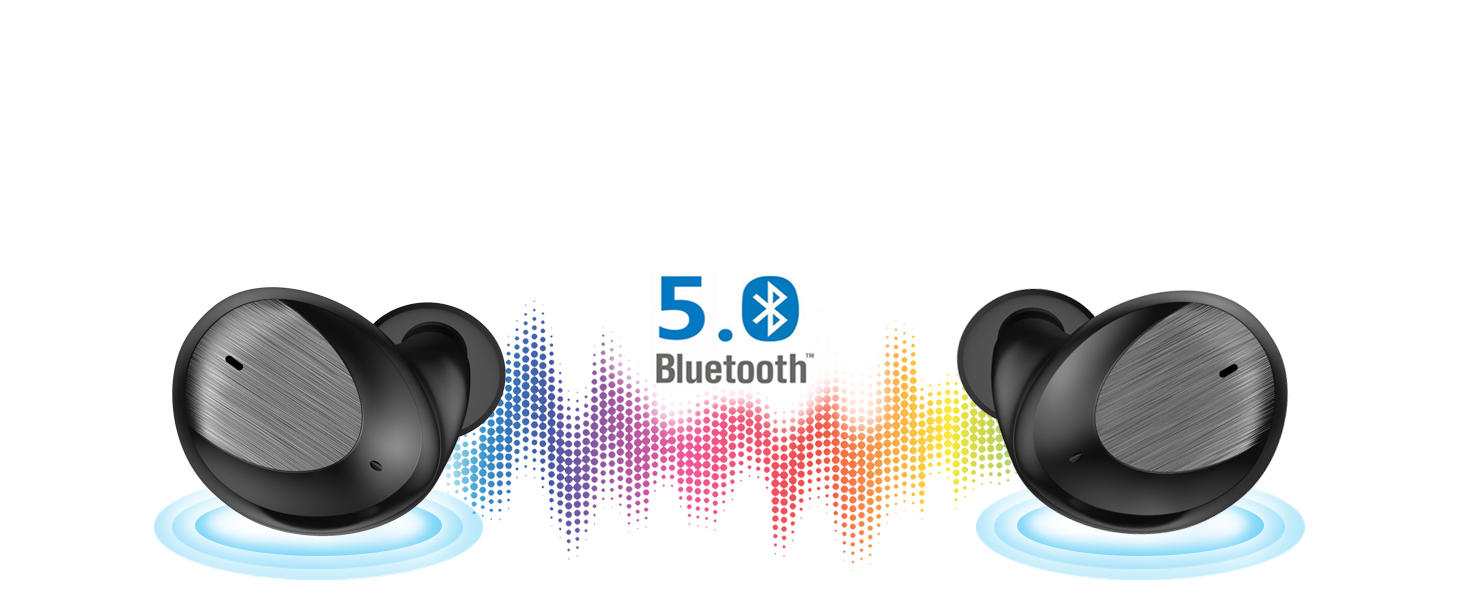 true wireless cordless earbuds dual twins wireless earbuds built in mic invisible wire free