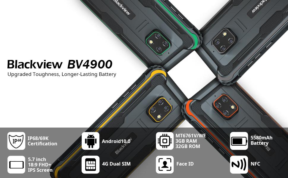 blackview bv4900 rugged phone