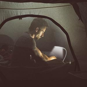 LED Clip Reading Light