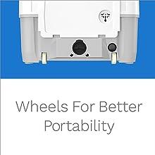 portable washing machine wheels
