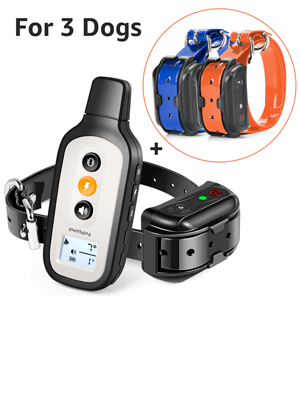 PetSpy Xpro-3 dog shock collar for 3 dogs