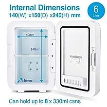 Ultra 6 Internal Dimensions