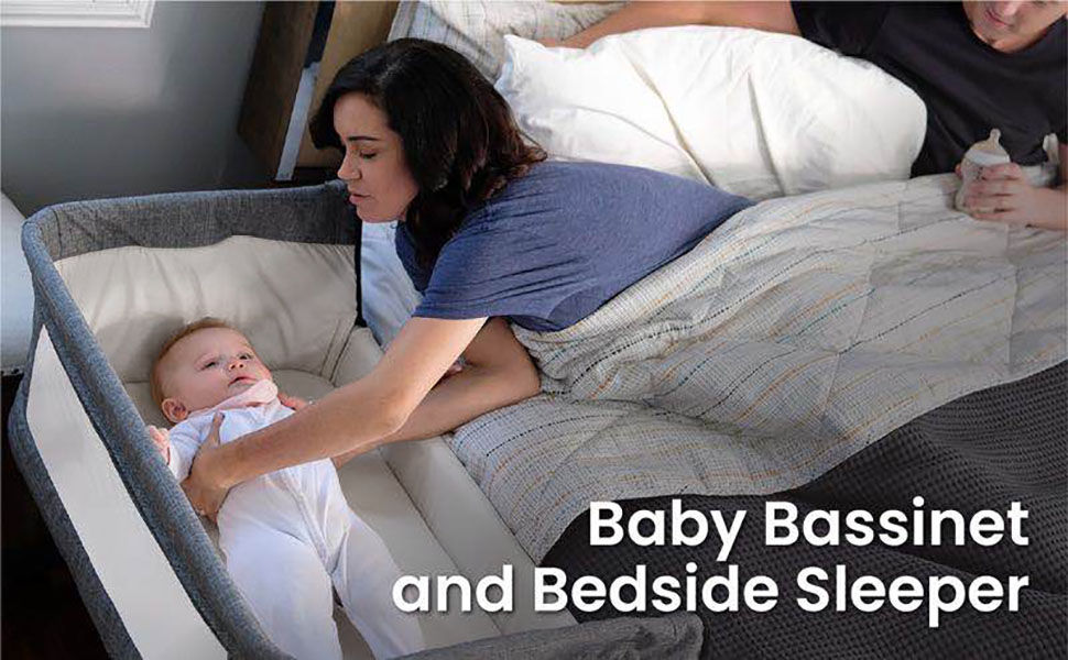 Baby Bassinet and Bedside Sleeper