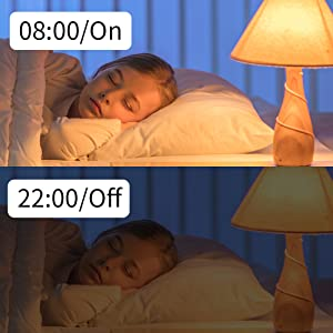 Smart Light Bulb works with Alexa Google Home A19 E26 Wifi Dimmable Warm White 2700K LED Bulbs