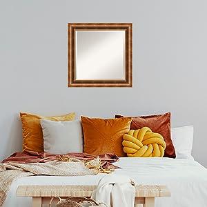 bronze bathroom bedroom mirror