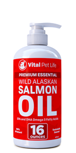 wild alaskan salmon oil fish supplement omega dog cat dry itchy allergies allergy