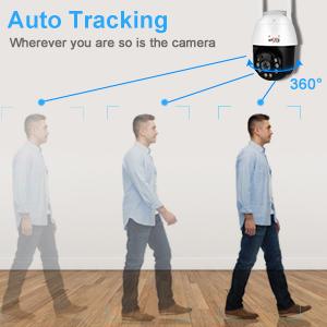 Intelligent human tracking