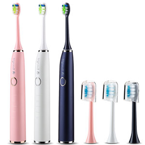 Sonic Electric Toothbrush, Plaque Control,Electric Toothbrush Travel Replacement Heads
