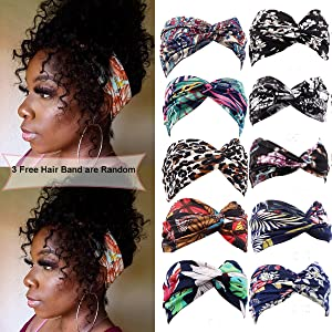 Wavy Human Hair Wigs for Black Women,100% Unprocessed Raw Virgin Hair Glueless Headwrap Half Wigs