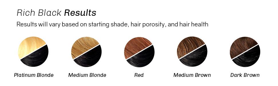 oVertone Haircare Rich Black Coloring Conditioner