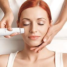 Depiladora Facial Electrica para Mujer