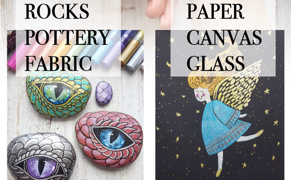 extra fine paint pens markers for rocks acrylic paint pens rock painting ceramic markers fine tip