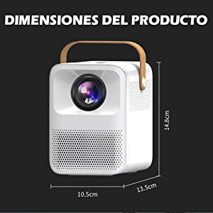 proyector portatil 4k, proyector portatil 1080p, proyector para ps5, proyector para playstation 5
