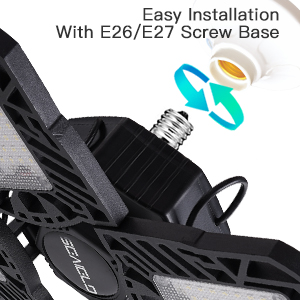 for E26/E27 screw base