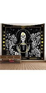 Skull Tapestry