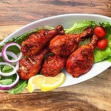 Kissan Tandoori Masala, Kisna Tandoori Masala, Kisna Foods, Chicken Tandoori, BBQ Seasoning