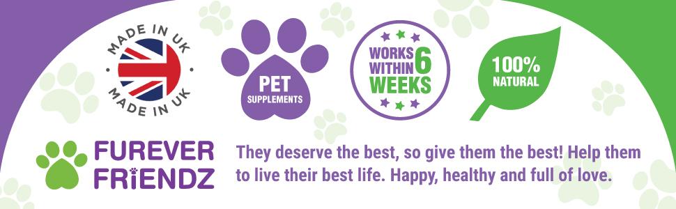 furever friendz pet supplements made in uk