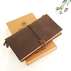 travelers notebook gift for travel leather gift for women leather leaving gift for men travel diary