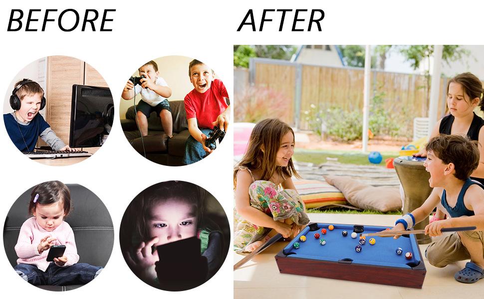 Change of Children in Recreational Activities