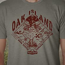 oak island, t-shirt, mystery, unexplained, parabox, puzzle, challenge, solve, paranormal, search
