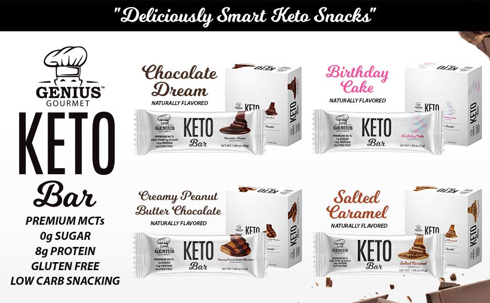 keto protein chocolate bars