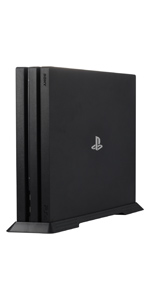 Younik PS4 Pro Vertical Stand with Built-in Cooling Vents and Non-slip Feet