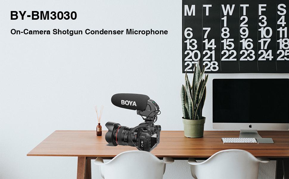 shotgun condenser camera microphone