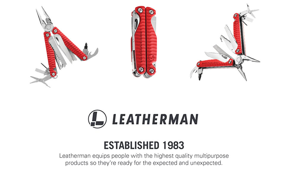 Leatherman Multitool, Multipurpose Tool, Leatherman Charge Plus G10