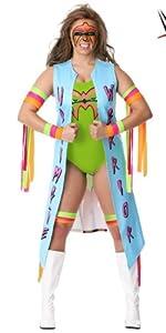 ultimate warrior, wwe, wrestling, costume