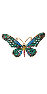 butterfly brooches pin