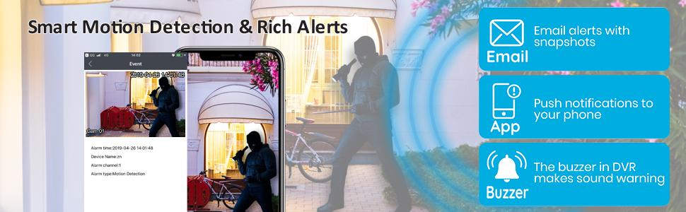 Rich alerts