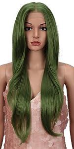 Spring Green Wig