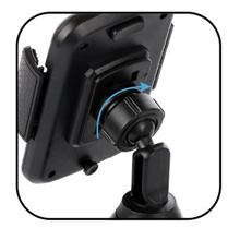 Universal Adjustable Cup Holder Cradle Car Mount for Cell Phone iPhone