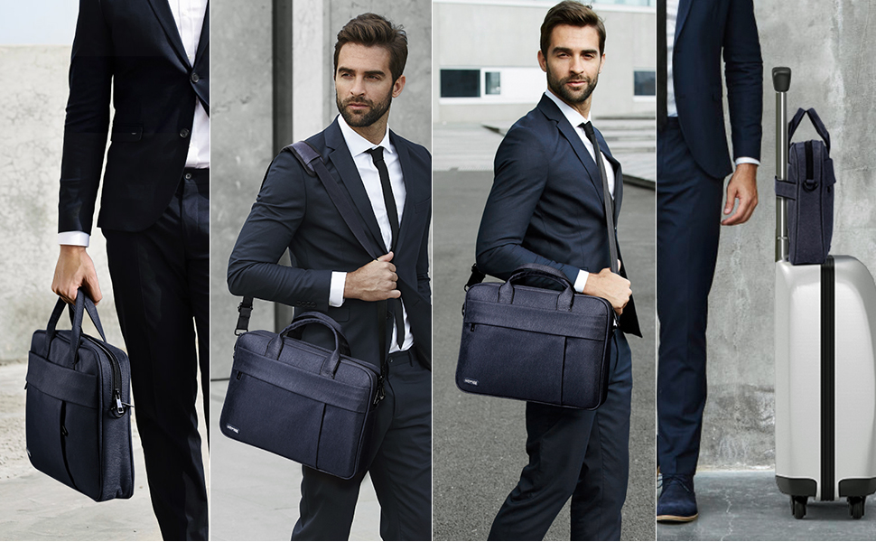 JuaoHuan Mumford Sons Laptop Shoulder Messenger Bag Case Briefcase Sleeve for 13 Inch 14 Inch 15.6 Inch Laptop Case 14 Inch