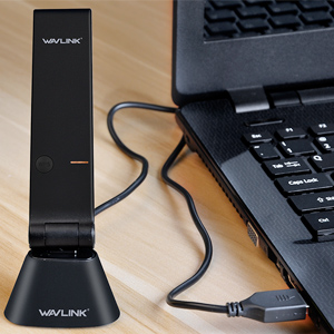 Included USB Cradle - Flexible for Placement