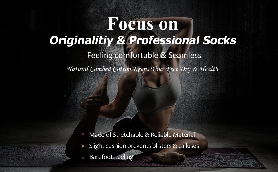yoga non slip soft comfortable sports athletic socks