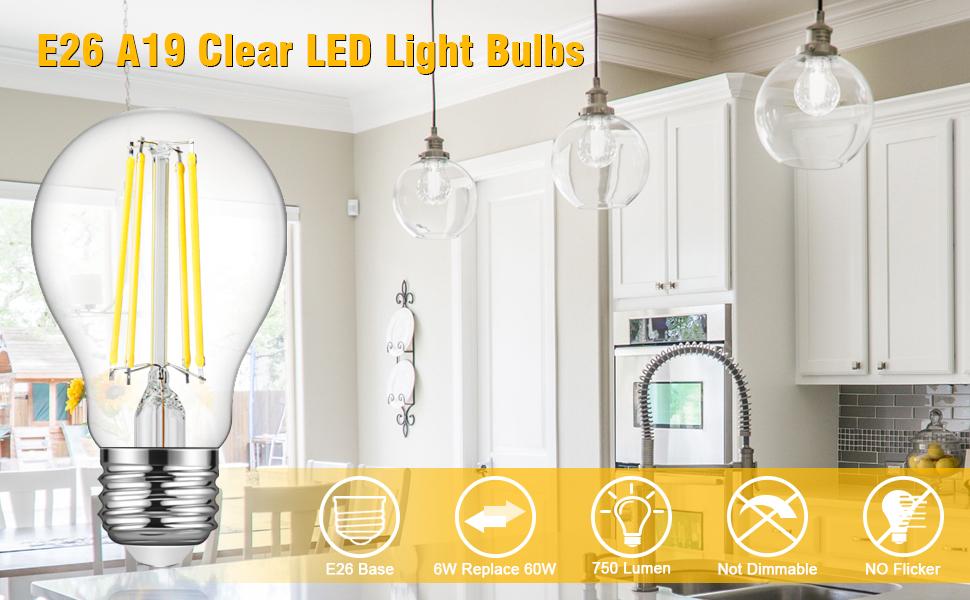 e26 clear light bulbs