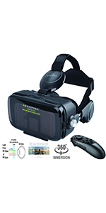 VR Headset with remote (BR)