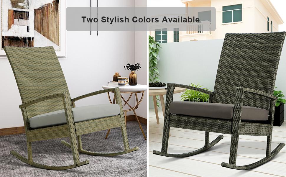 Outdoor Rocking Chair Furniture set