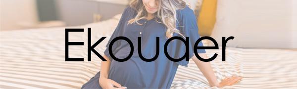 3 in 1 Delivery/Labor/Nursing Nightgown Women's Maternity Hospital Gown/Sleepwear for Breastfeeding