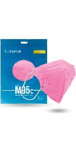 M95c Kids Face Mask Flamingo Pink