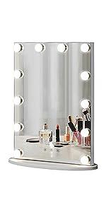 Hollywood Tabletop Makeup Mirror