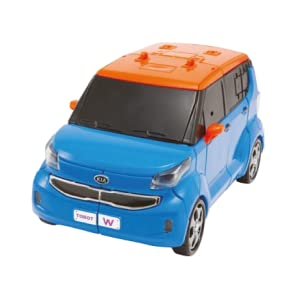 Transforming Robot Car to Robot Animation Character Tobot Youngtoys W Car