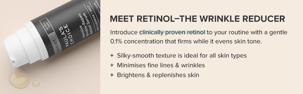 A anti-ageing face serum that targets fine lines and wrinkles, while improving the feel of firmness.