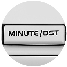electronic clock radio with dst